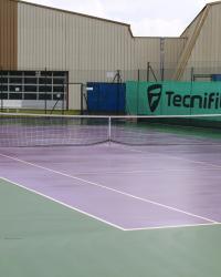 Le complexe de tennis